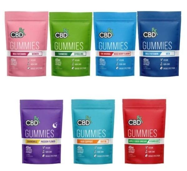 CBDFX CBD Gummy Pouch count(alt)